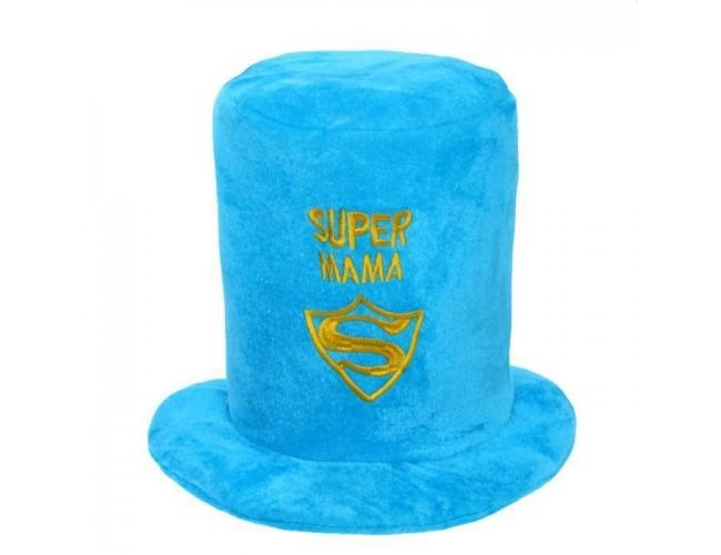 """Карнавальная шляпа """"Супер мама"""", цвета МИКС"""