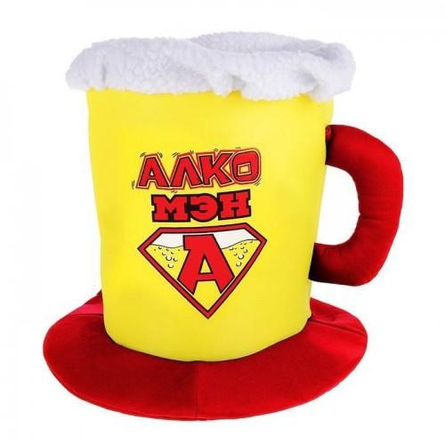 """Шляпа пиво """"Алко мэн"""""""