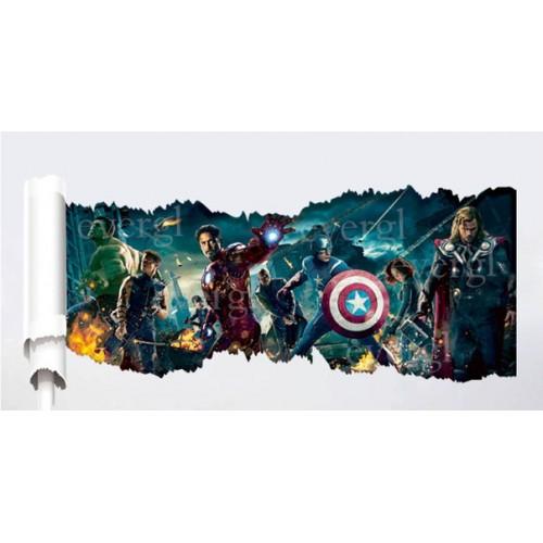 "3D-Постер на стену ""Мстители"""