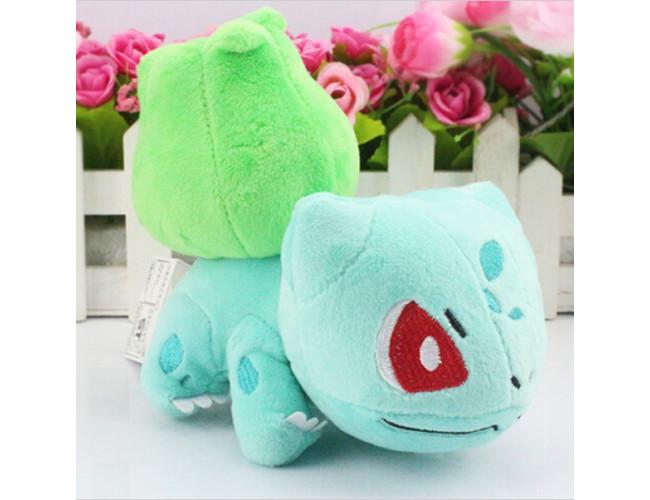 Бульбазавр плюшевая игрушка