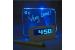 Часы будильник с подсвечивающейся доской для записей