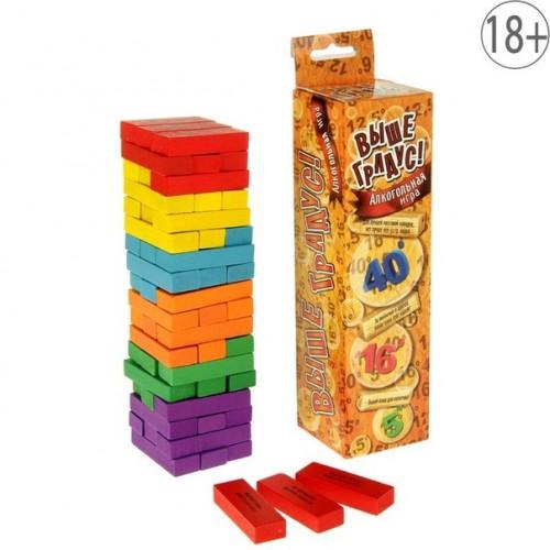 """18+ Падающая башня """"Пьяная башня"""" в коробке"""