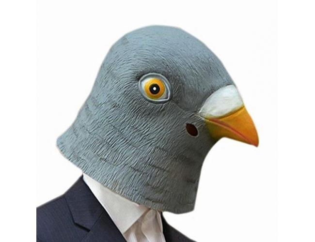 "Маска ""Голова голубя"""