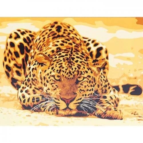 Леопард 50х40см
