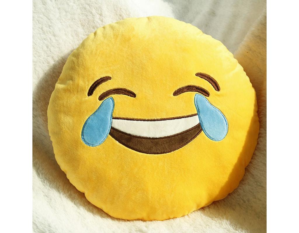 купить подушку смайлик в москве